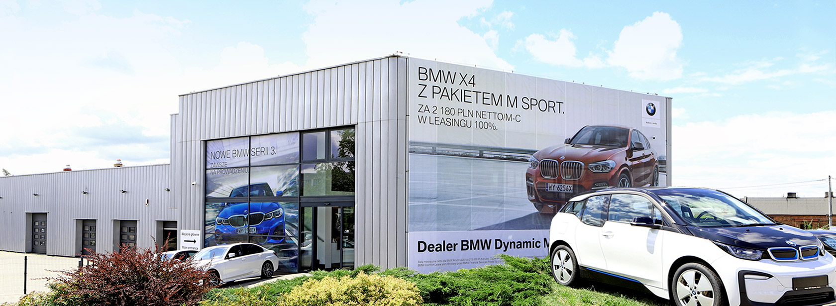 Salon Dealer BMW Dynamic Motors Płock.